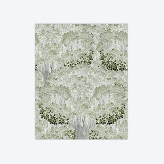 Savage Leaves Neutral Wallpaper
