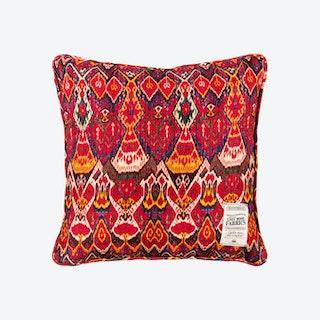 Uzbek Ikat Cushion