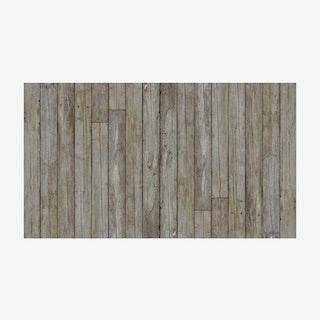 Grey/Green Beams Wallpaper