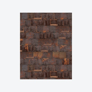 Rusted Metal Brown Wallpaper