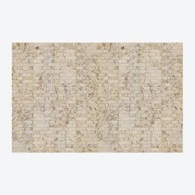Medium Beige Tiles Wallpaper