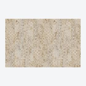 Small Beige Tiles Wallpaper