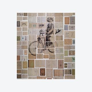 Man on Bicycle Wallpaper
