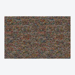 Crown Caps Wallpaper - Black