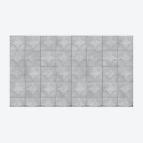 Moulded Circle Wallpaper