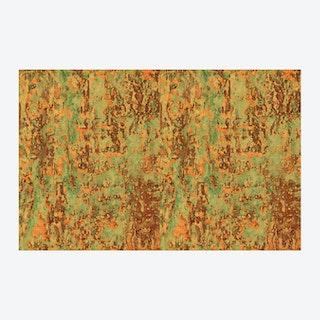 Spoiled Copper Metallic Wallpaper