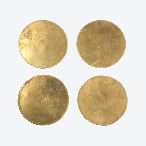 Brass Coasters (set of 4)