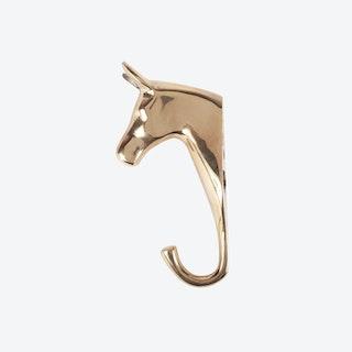Brass Horse Hook