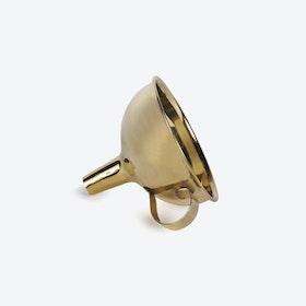 Solid Brass Funnel