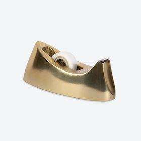 Brass Plated Modernist Tape Dispenser