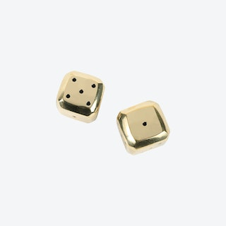 Solid Brass Bevelled Dice