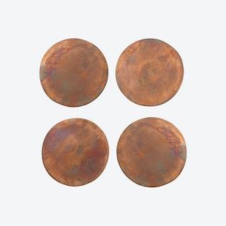 Copper Coasters (set of 4)