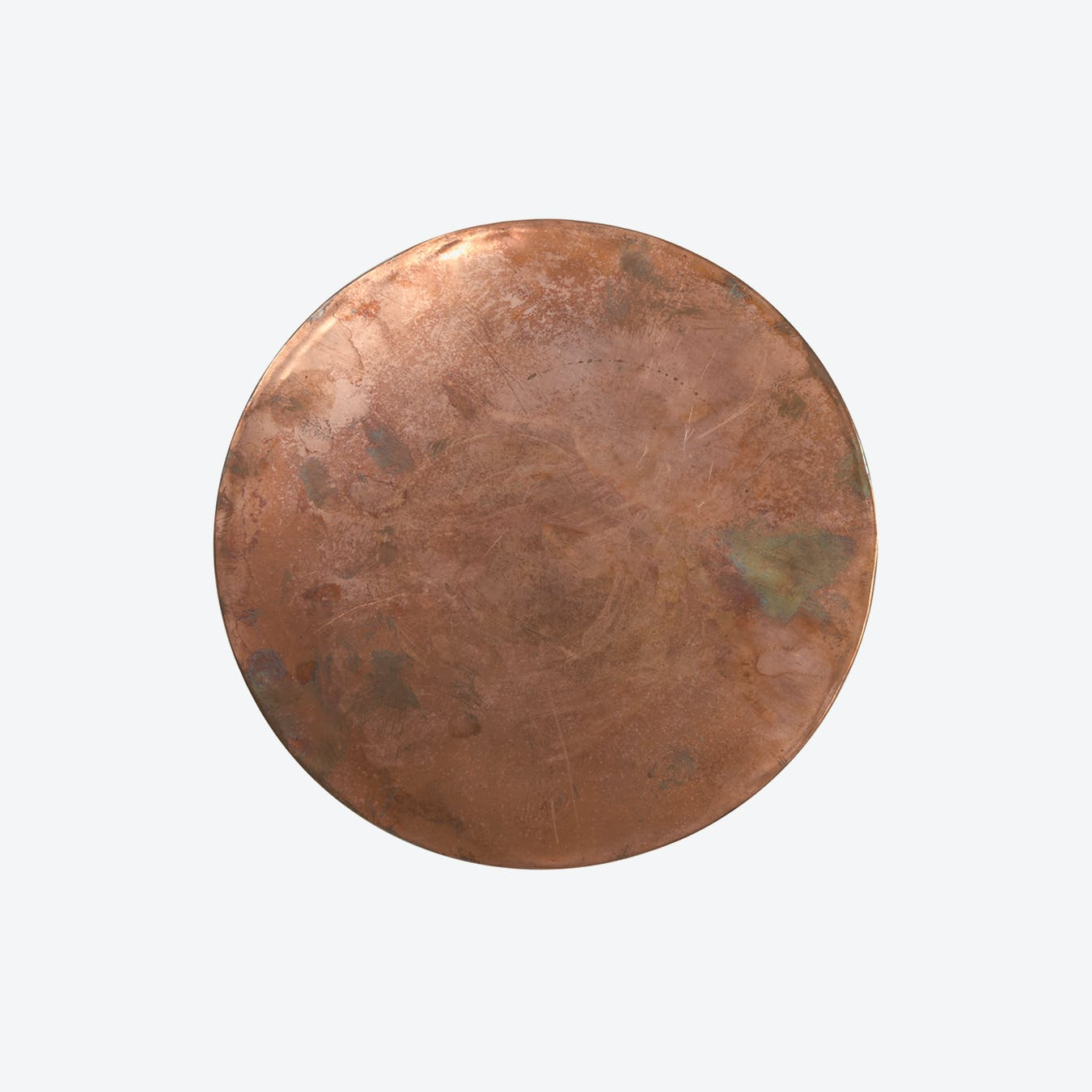 Copper Plated Brass Trivet