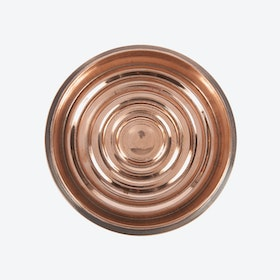 Copped Plated Brass Bottle Coaster