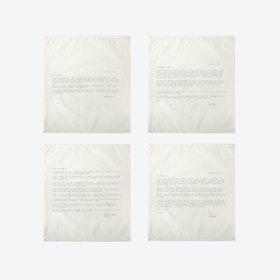 Ed. 1 - Set 2 Love Letter Napkins