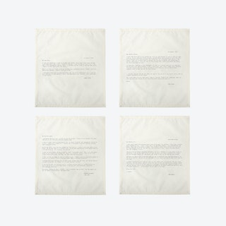 Ed. 1 - Set 2 Love Letter Napkins