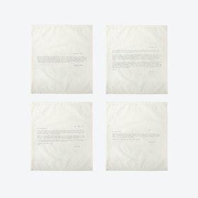 Ed. 1 - Set 3 Love Letter Napkins