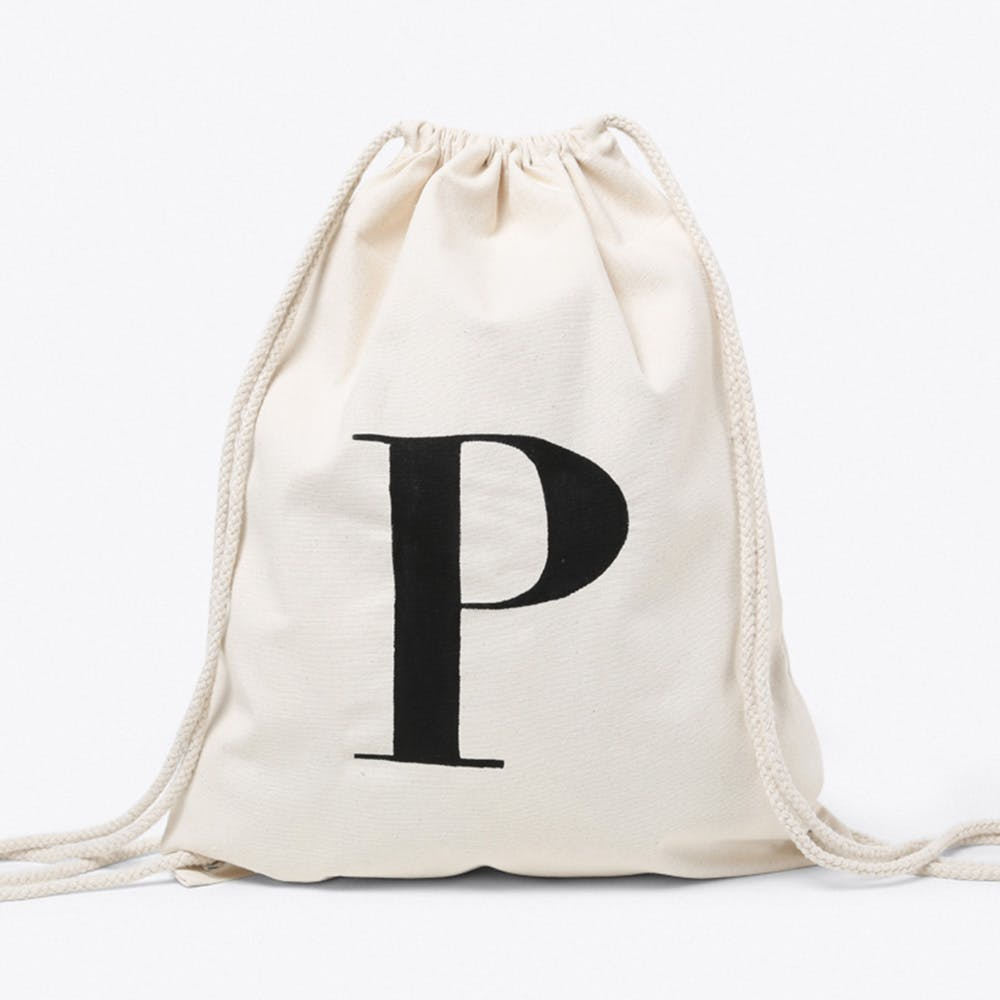 P Canvas Backpack