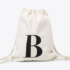 B Canvas Backpack