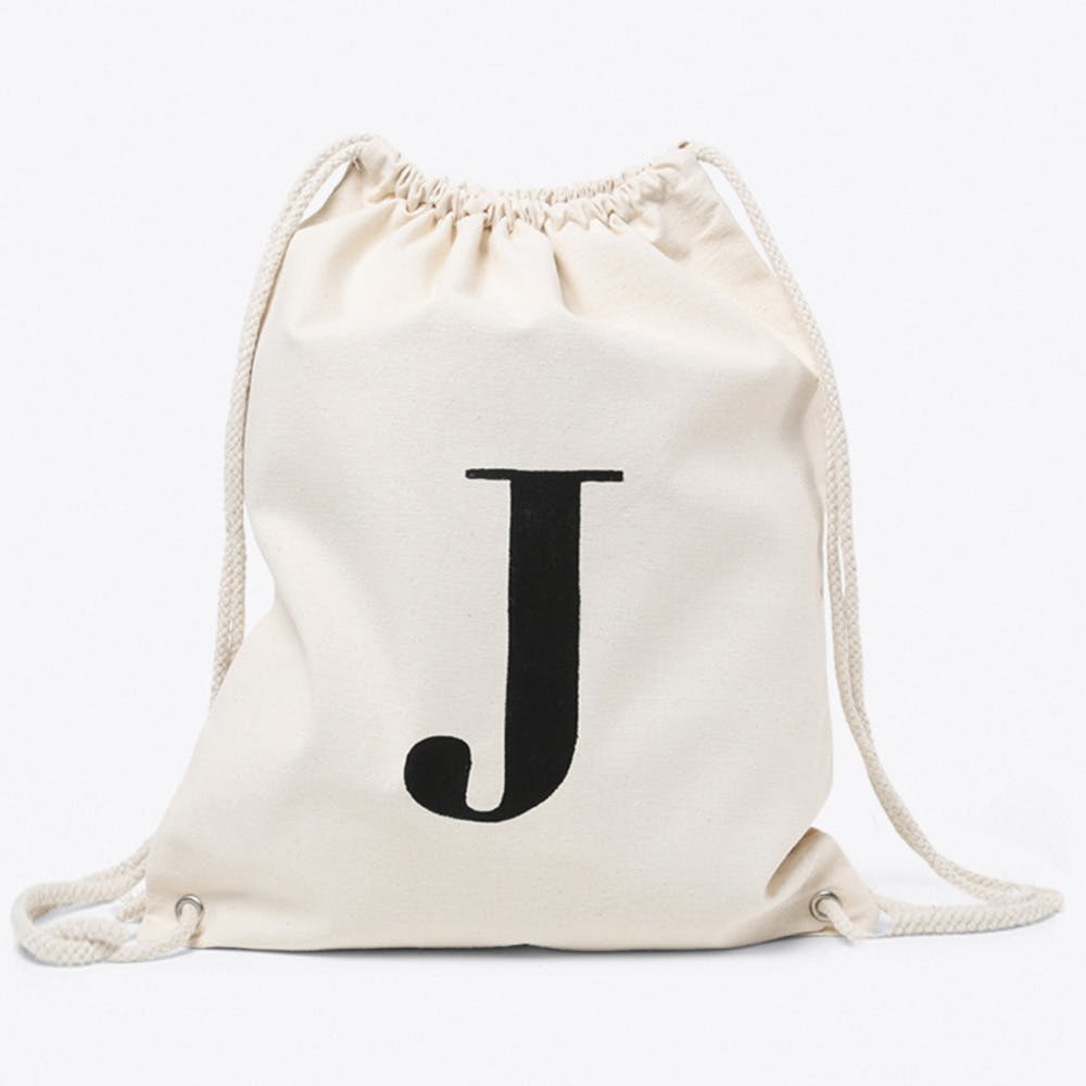 J Canvas Backpack
