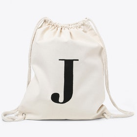 J Canvas Backpack