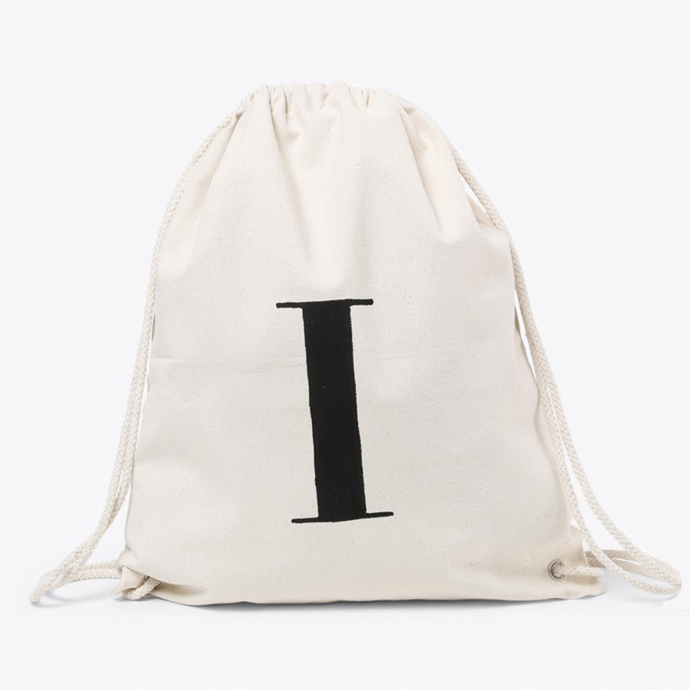 I Canvas Backpack