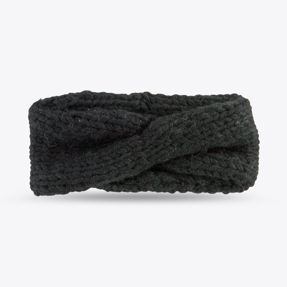 Turban Headband in Black