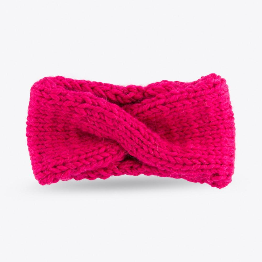 Turban Headband in Pink