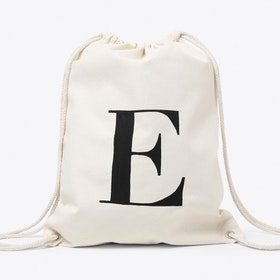 E Canvas Backpack