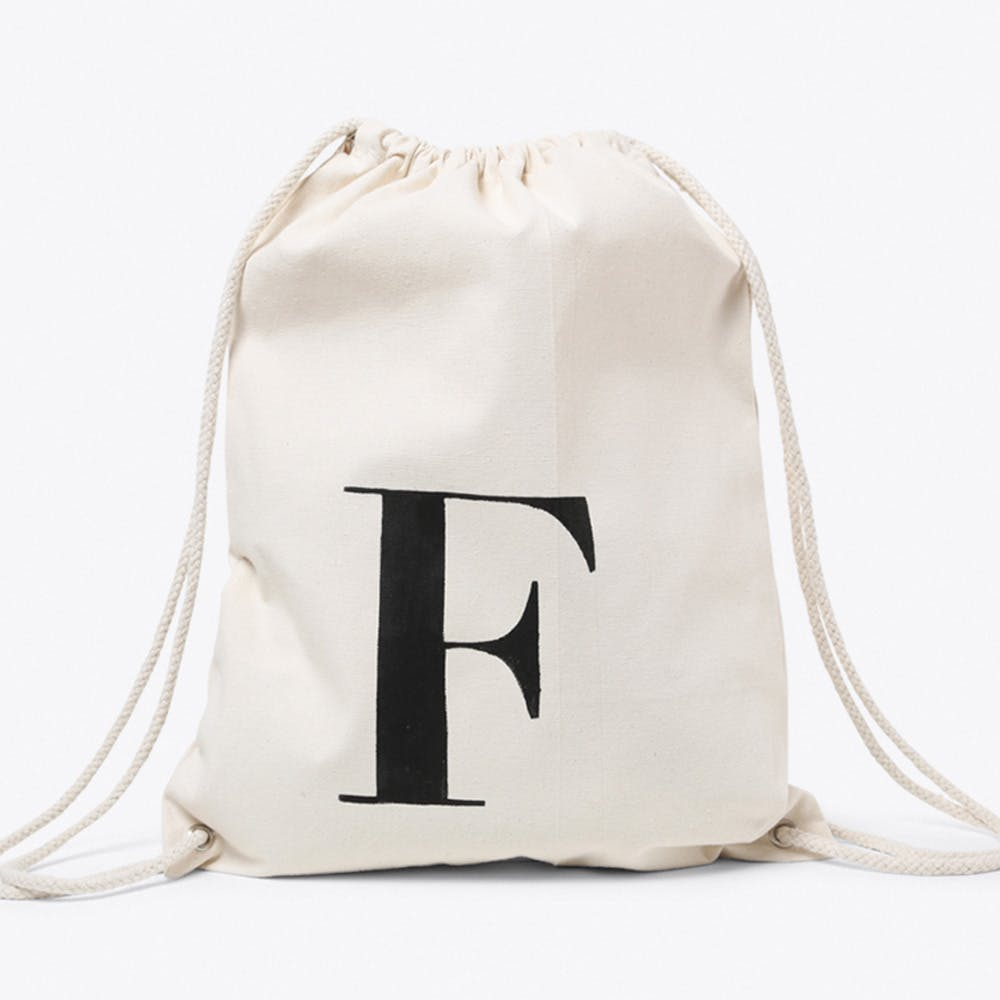 F Canvas Backpack