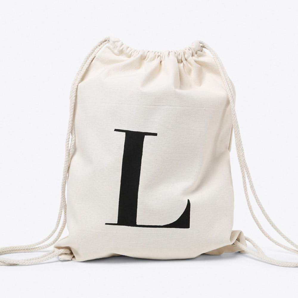L Canvas Backpack