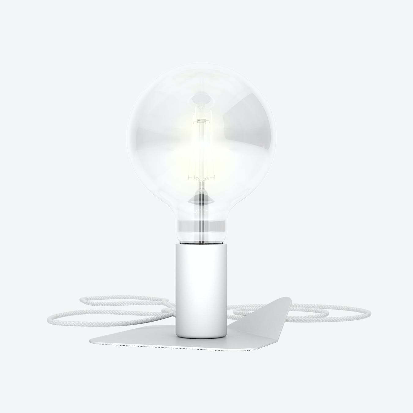 White Magnetico Lamp