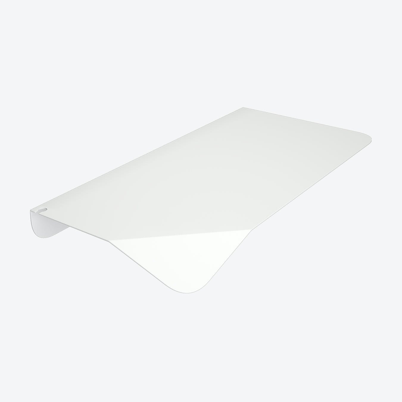 White Magnetico Shelf