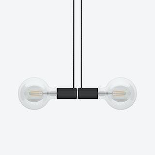 Black Magnetico Double Pendel Pendant Lamp