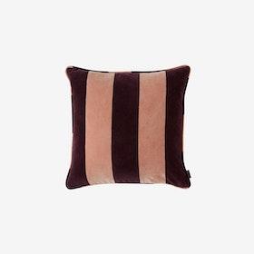 Confect Velvet Cushion in Rose/Aubergine - OYOY