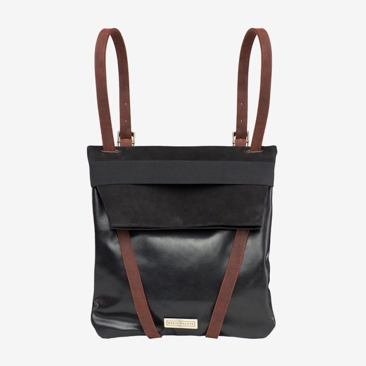 Backpack Black - Maria Maleta