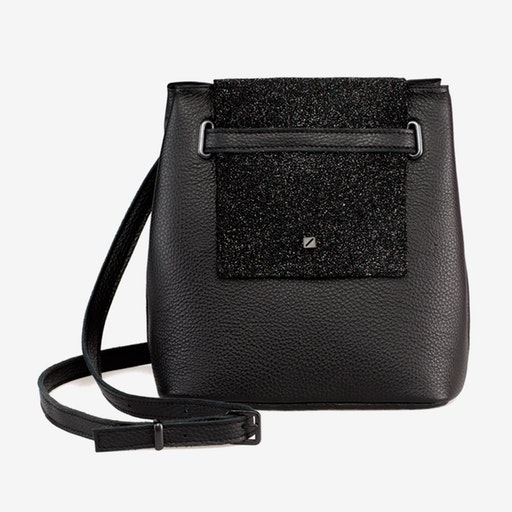 Mini Bucket Black - Maria Maleta