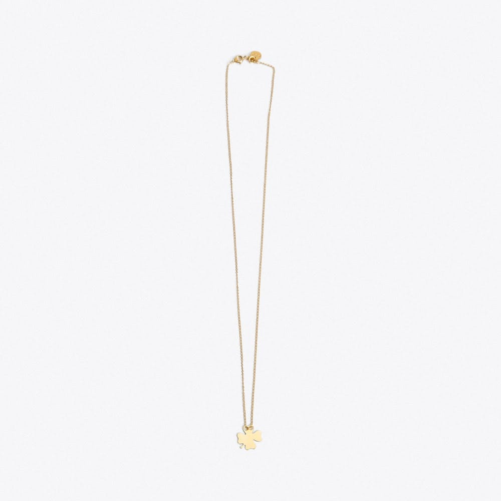 Lucky Clover Necklace in Gold - SOFIA DIDO