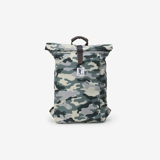 Rollie Bag in Camo - Forbes and Lewis