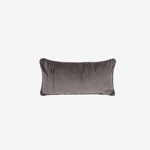 Pillow in Dark Grey Velvet - Vetsak