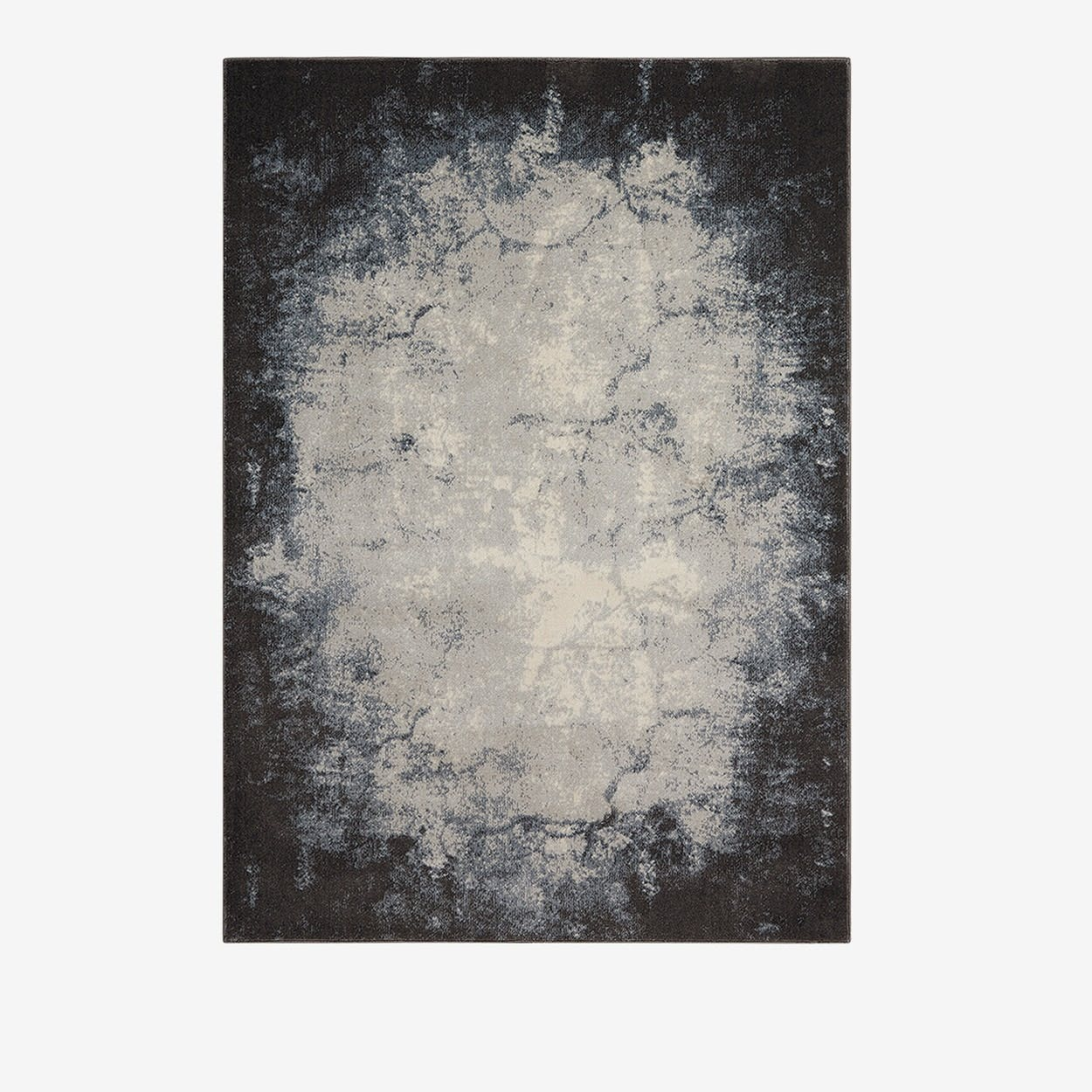 MAXELL Rug in Ivory & Grey - Nourison