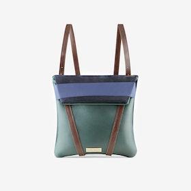 Reversible Moss Backpack - Maria Maleta
