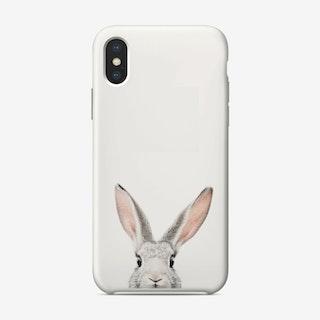Peekaboo Bunny iPhone Case - Sisi and Seb