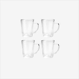 Amo Coffee Mug, 250mL (set of 4) - Vialli Design