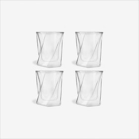 Cristallo Whiskey Glass, 300mL (set of 4) - Vialli Design
