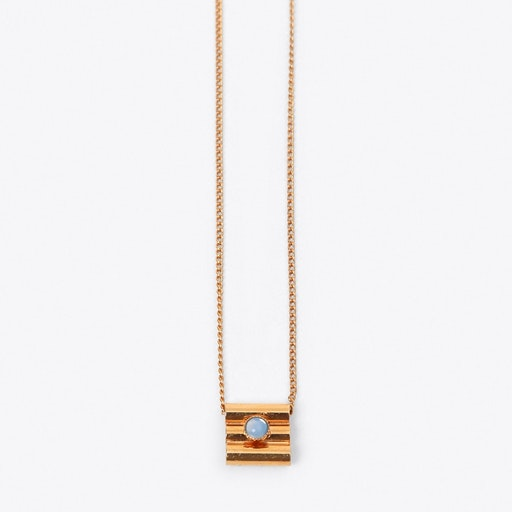 Cushion Necklace in Blue - Aliquo
