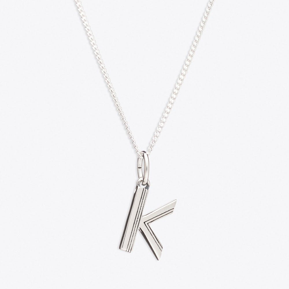 K Initial Necklace - Rachel Jackson London