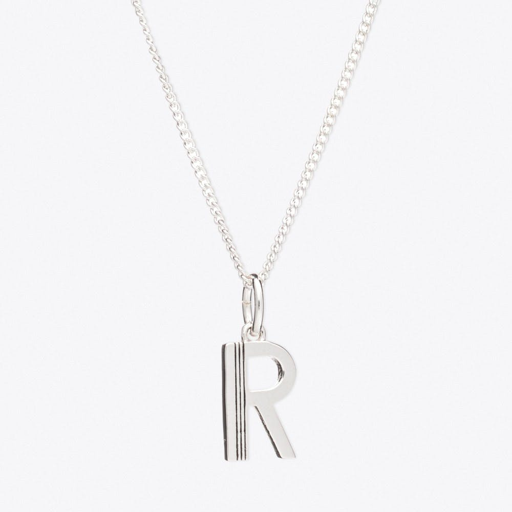 R Initial Necklace - Rachel Jackson London