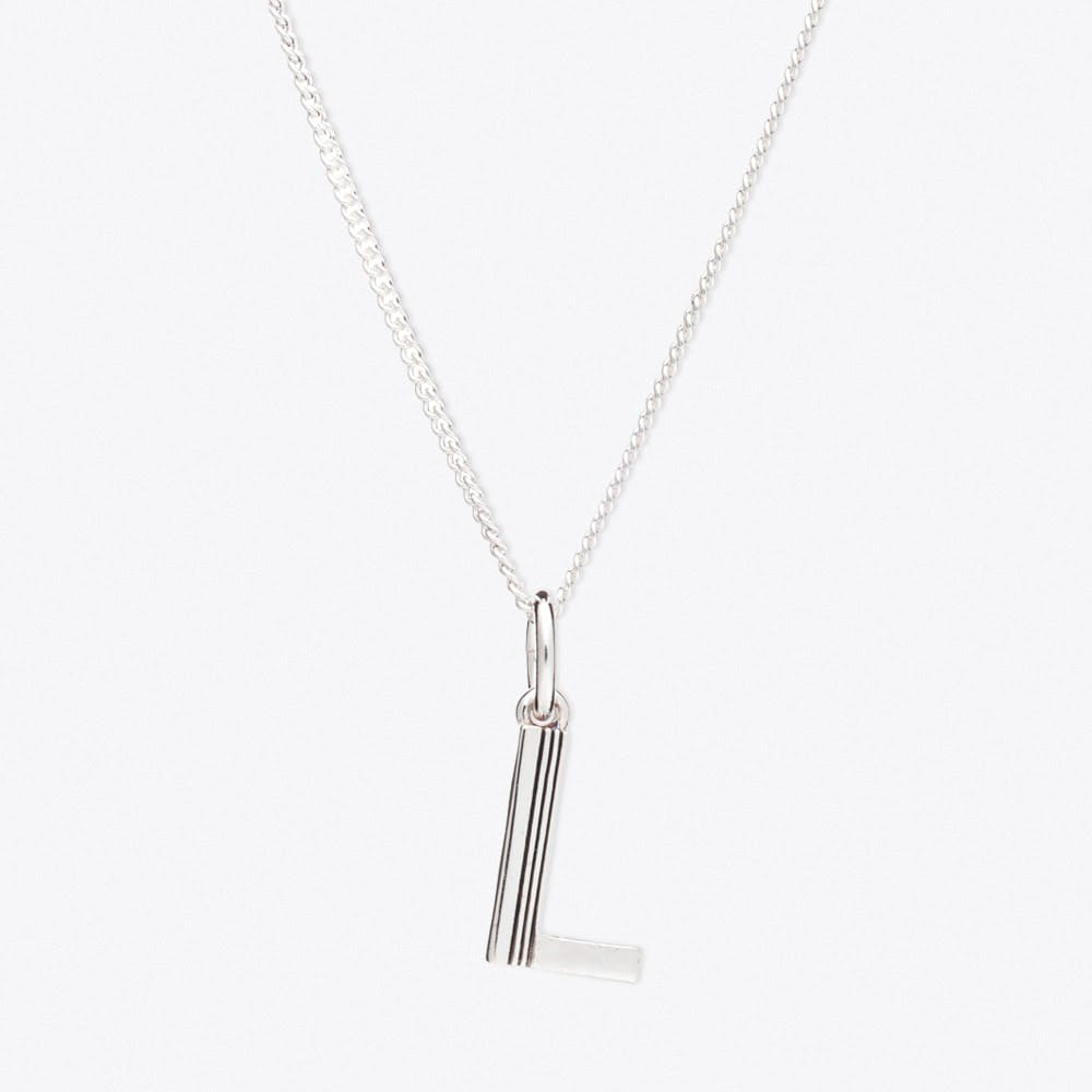 L Initial Necklace - Rachel Jackson London