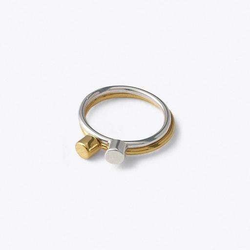 Dot Ring in Gold - Matthew Calvin